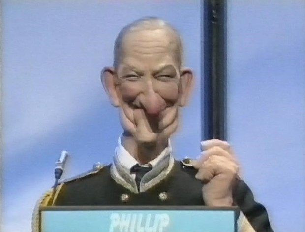 Prince Phillip (or at least a stunning simulacrum)