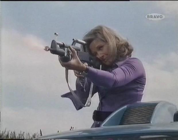 Wanda Ventham in Action