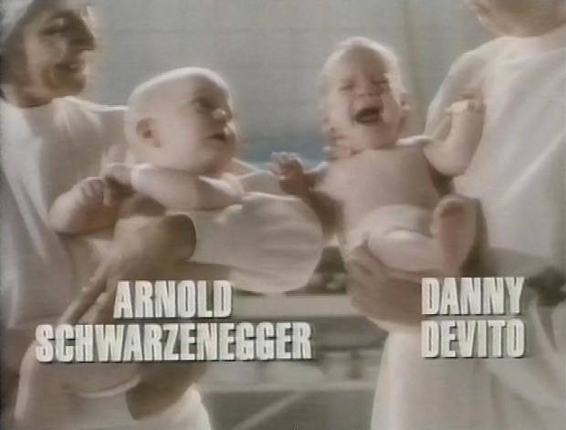 Arnold Schwarzenegger and Danny DeVito