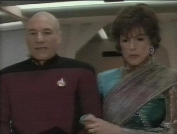 Picard and Lwaxana