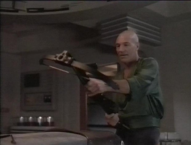 Picard and the crossbow