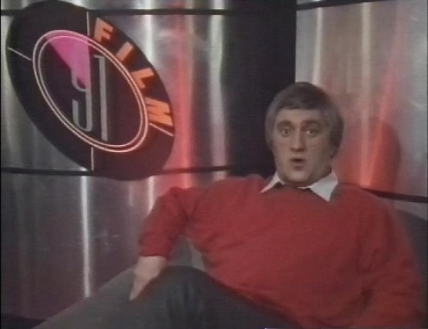 Alexei Sayle does Barry Norman