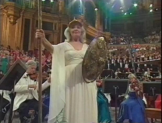 Gwyneth Jones as Britannia