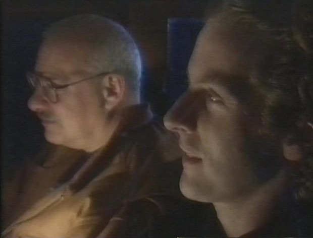 Howard Schuman and Peter Capaldi