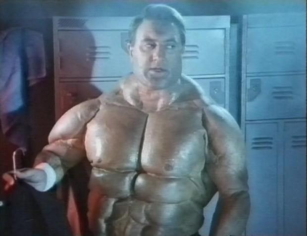 Sayle as Schwarzenegger