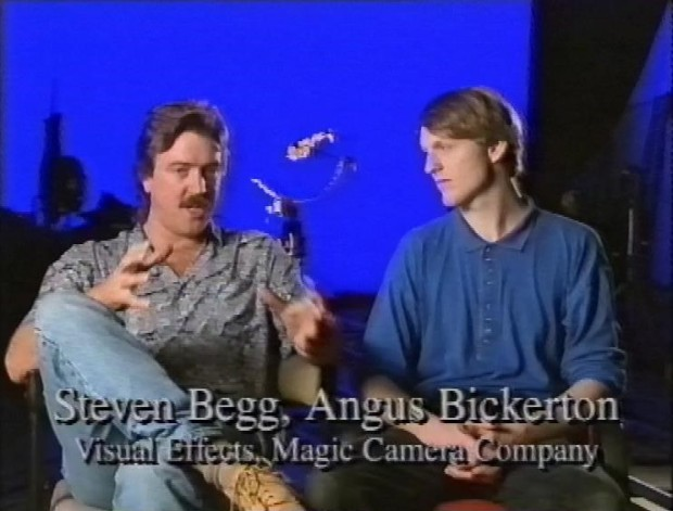 Steven Begg and Angus Bickerton
