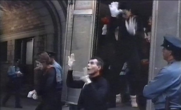 Arrested Mimes