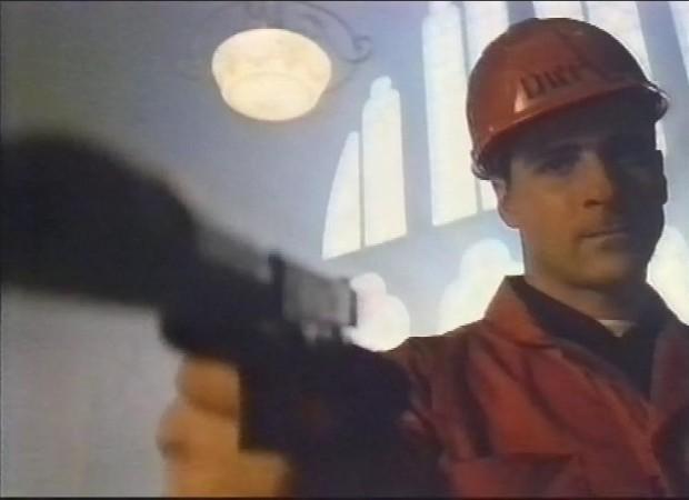 Bad man with a gun