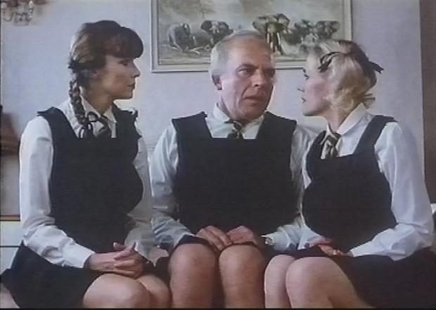 John Shrapnel as a schoolgirl