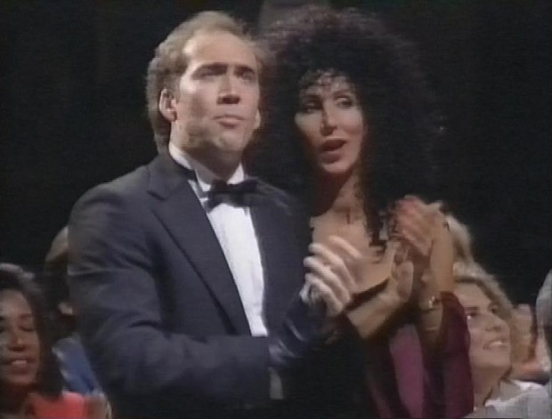 Nicholas Cage and Cher