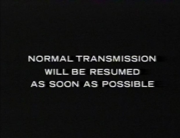Normal Transmission will be resumed as soon as possible.