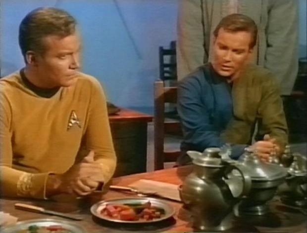 Two Captain Kirks