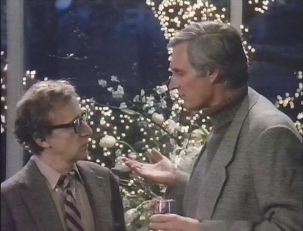 Alan Alda and Woody Allen
