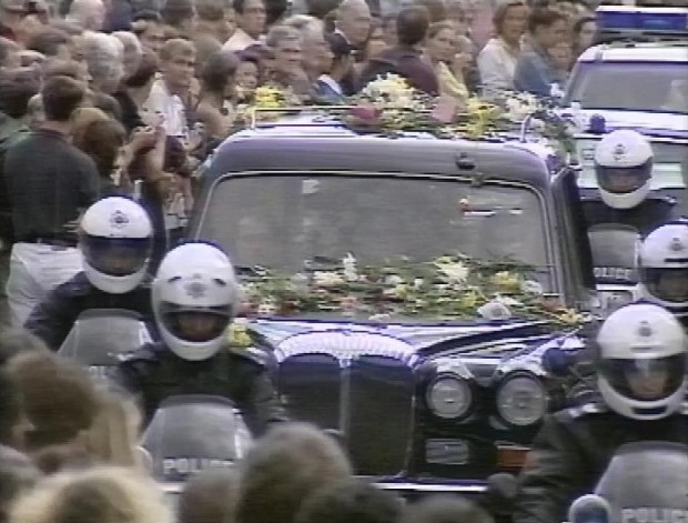 Flowers on the Hearse