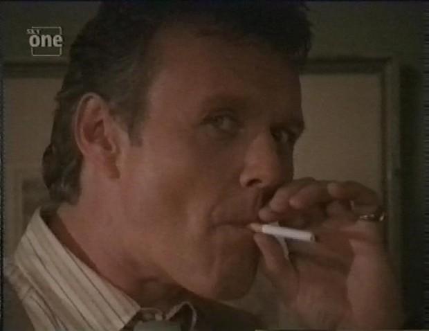 Giles Smoking