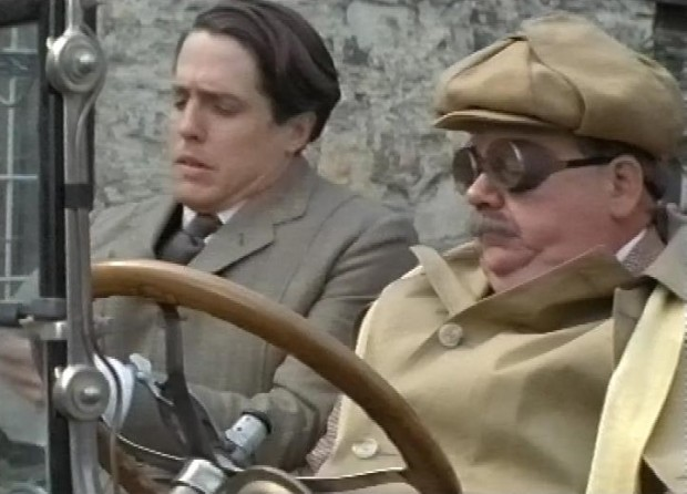 Hugh Grant and Ian MacNeice