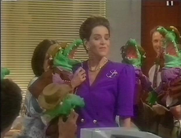 Sally and the crocs