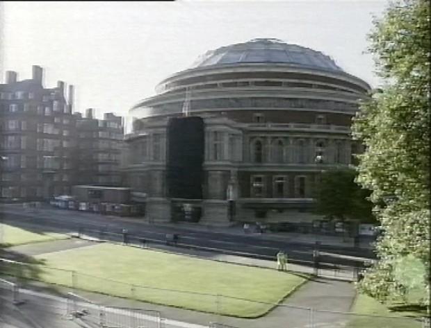 Sombre Albert Hall
