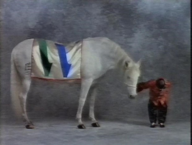 Weird BBC2 Ident Horse