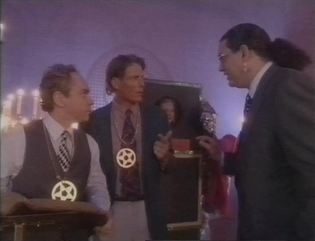Christopher Reeve and Penn and Teller