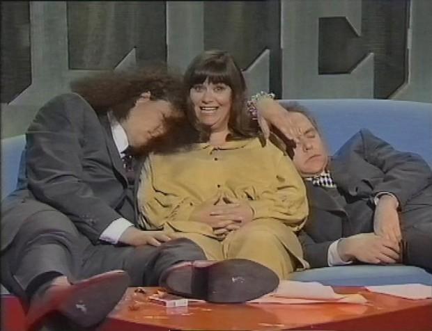 Dawn French with Penn & Teller