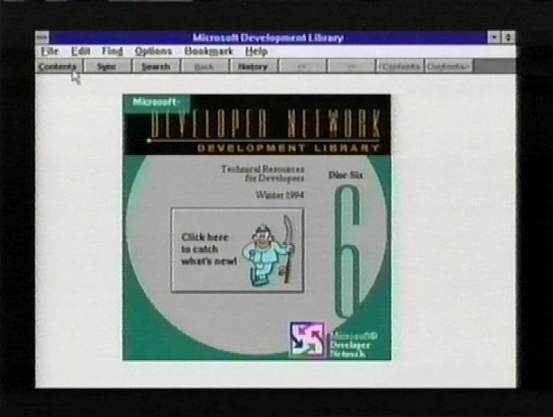Old Style MSDN