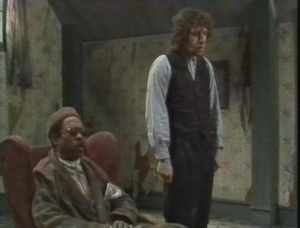 Stephen Rea and Norman Beaton
