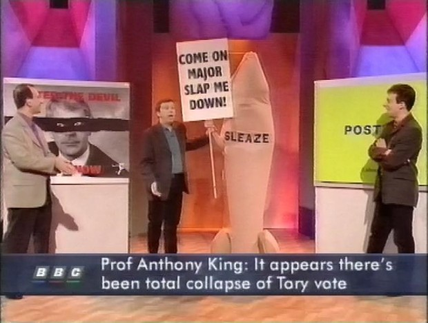 Total collapse of Tory Vote
