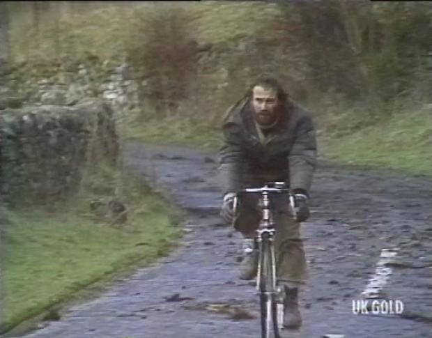 Charles on a Bike