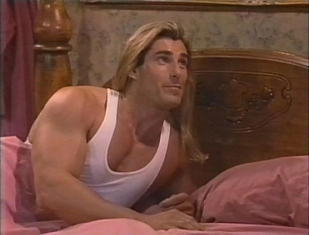 Fabio on Roseanne