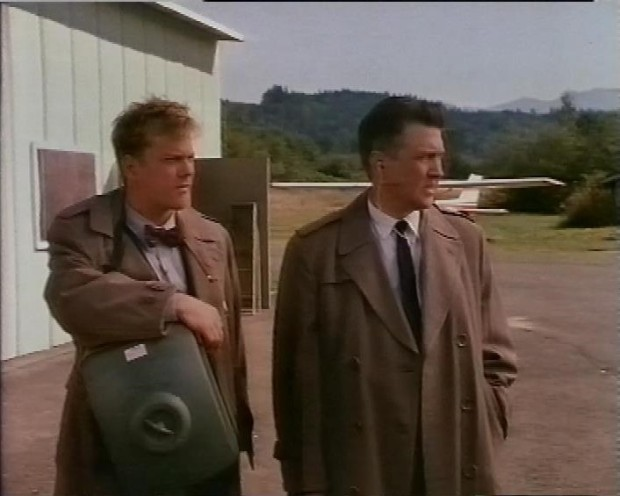 Kiefer Sutherland and David Lynch