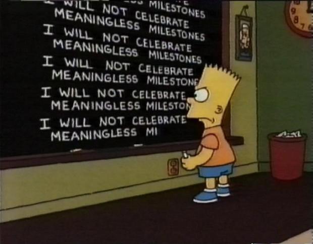 Meaningless Milestones