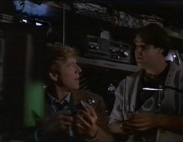Robert Redford and Dan Aykroyd