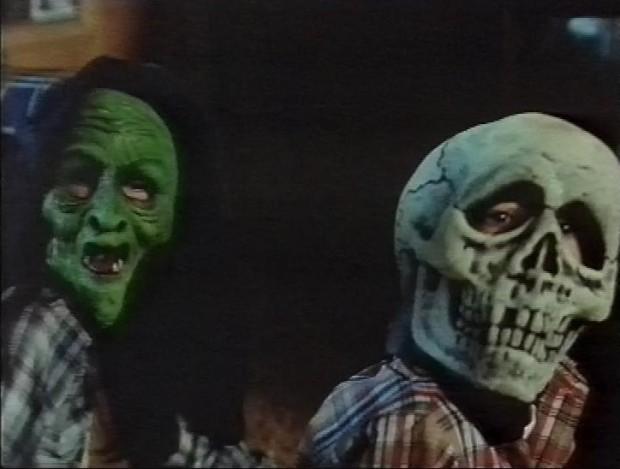 Silver Shamrock Masks