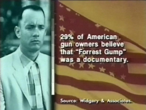 Forrest Gump was a documentary