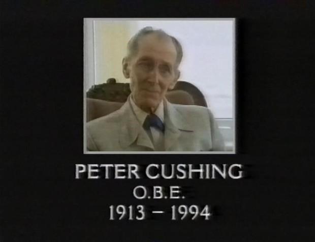 RIP Peter Cushing