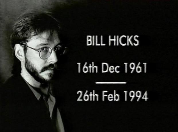 thirtysomething - Bill Hicks - It's Just A Ride - Bill Hicks - Revelations - Equinox - tape 1797