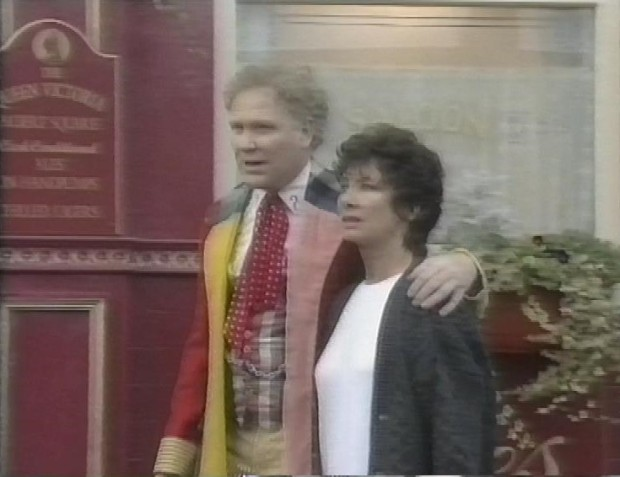 Colin Baker and Carole Ann Ford