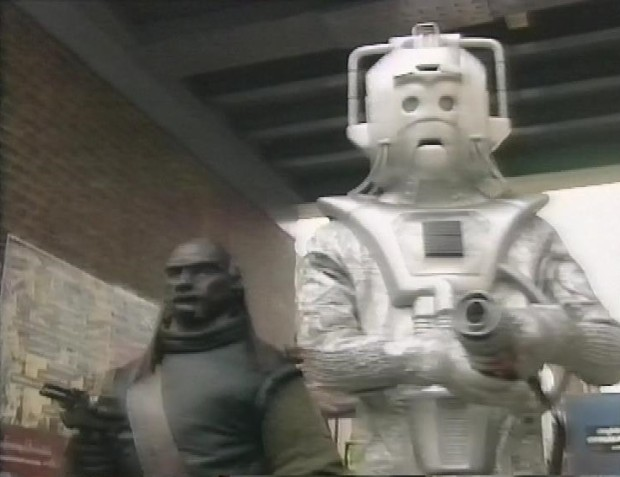 Cyberman and Ogron
