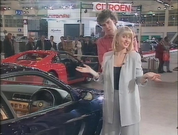 Jeremy Clarkson and Michele Newman