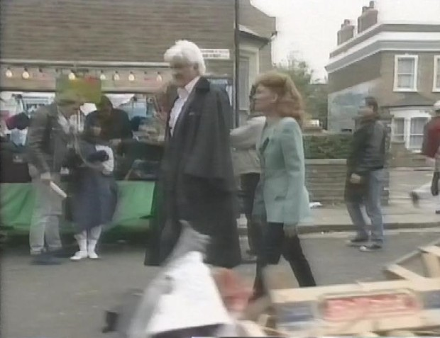 Jon Pertwee and Bonnie Langford