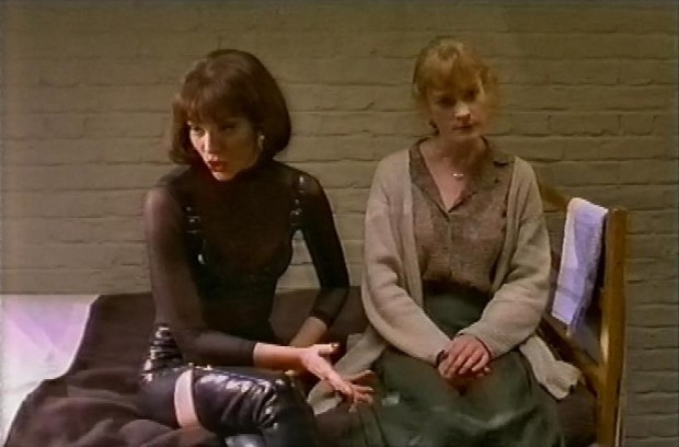 Kim Catrall and Claire Skinner