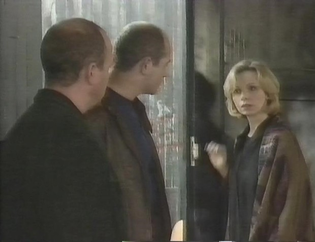 Lalla Ward and some men