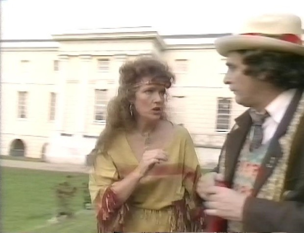 Louise Jameson and Sylvester McCoy