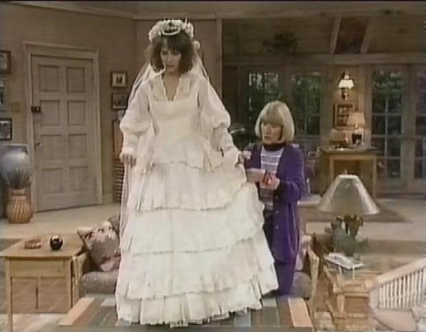 Poebe's Wedding Dress