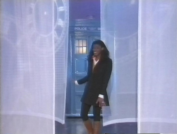 Tardis on Tomorrow's World