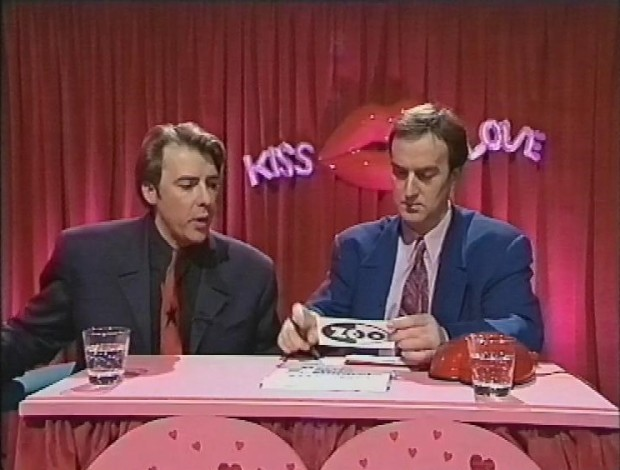 Angus Deayton and Jonathan Ross
