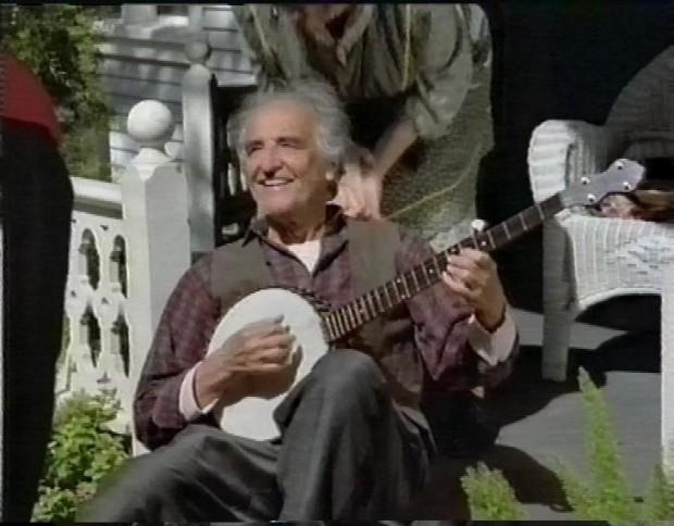 Banjo playing hologram