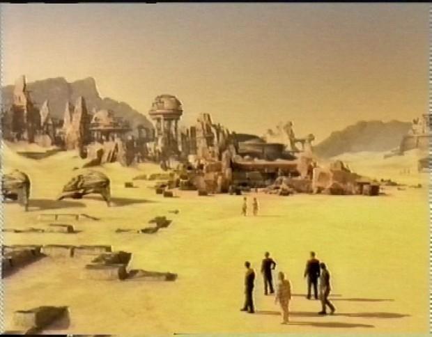 Desert Matte Painting