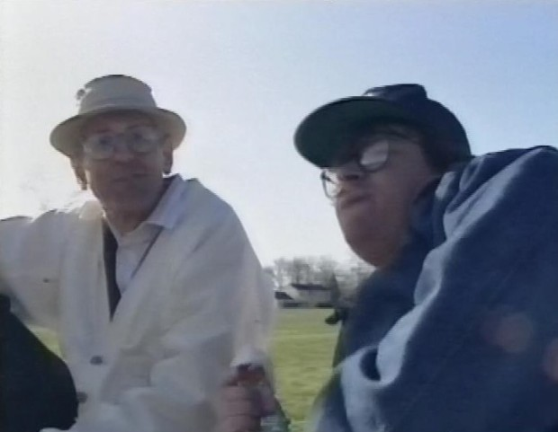 Jack Kevorkian and Michael Moore